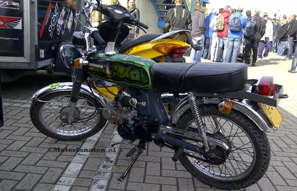 Honda, SS50, 50cc, Brommer