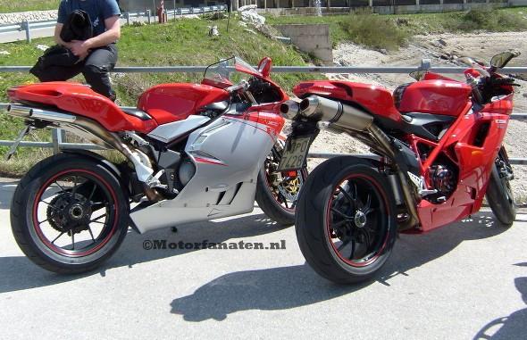 MV Agusta, F4, Ducati, 998