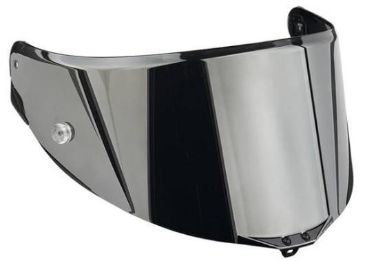 AGV GT3 2 Sportmodular Iridium Zilver Vizier